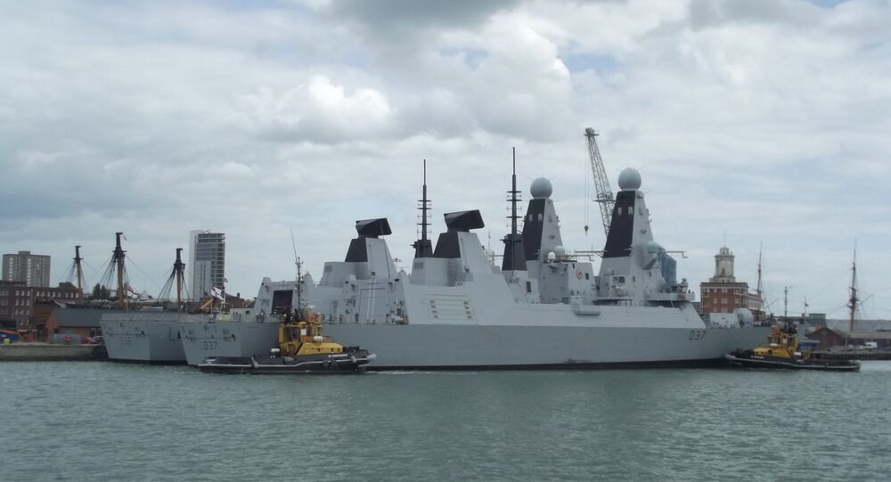 HMS Duncan, Type 45 air defence destroyer