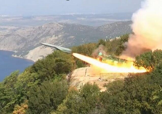 Utes coastal silo-based missile system