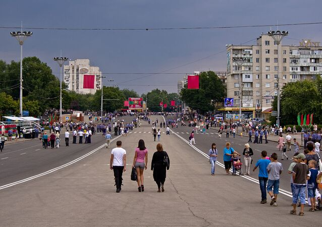 Tiraspol, capital of Transnistria