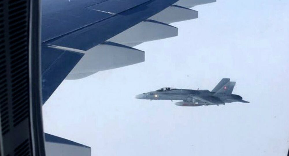 Swiss fighters accompany aircraft with Russian delegation en route to Peru