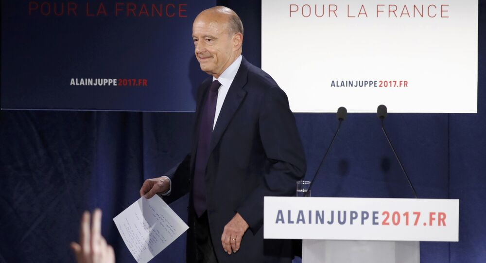 French politician Alain Juppe