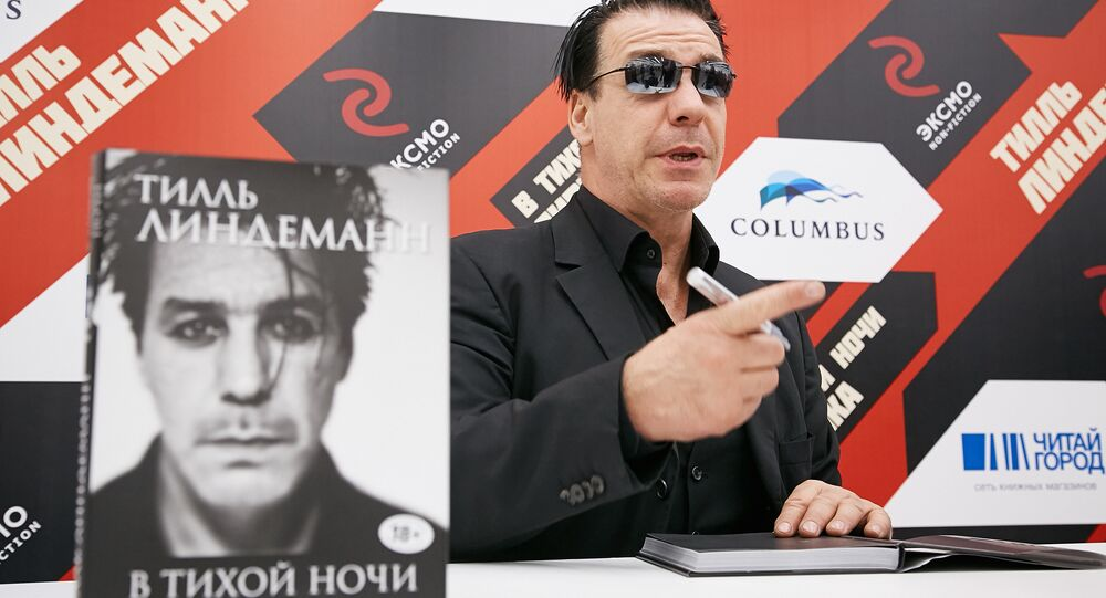 Till Lindemann in Moscow