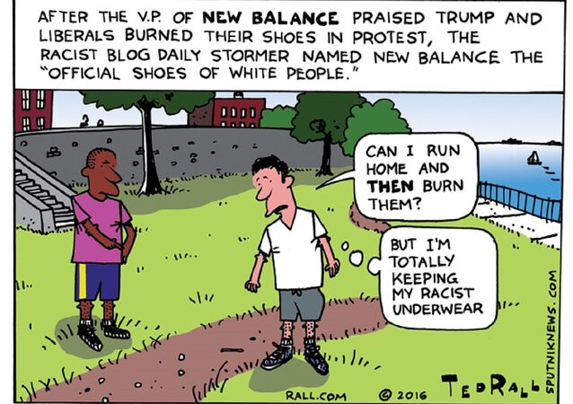 'The Official Shoes of White People'?