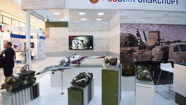Rosoboronexport display stand - Sputnik International