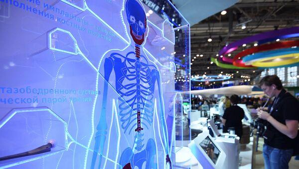 A stand with an artificial hip joint - Sputnik International