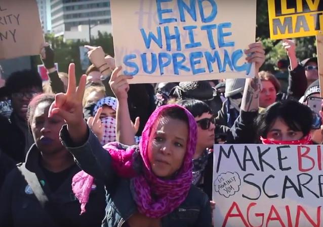 White Lives Matter Protest, Austin, Texas