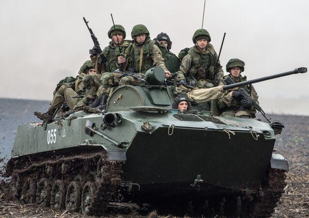Russian servicemen. (File)