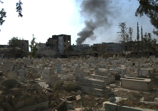 desecration of graves in Damascus
