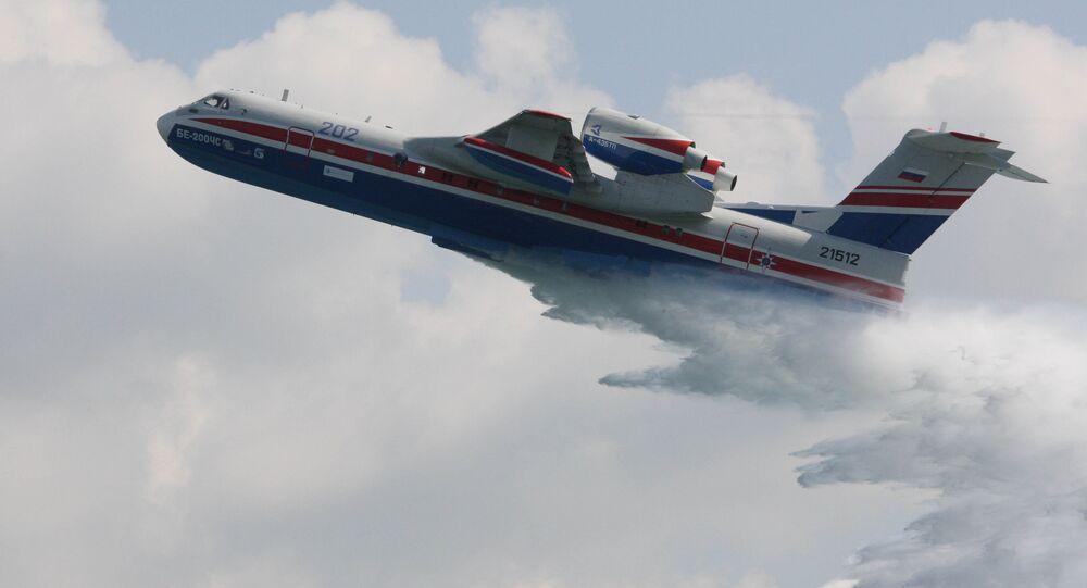 Be-200ChS multipurpose amphibious aircraft