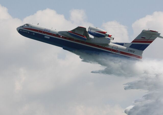 Be-200ChS multipurpose amphibious aircraft