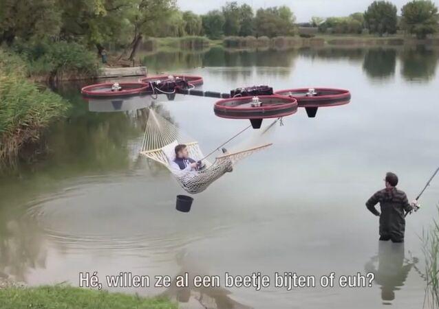 A Flying Drone Hammock