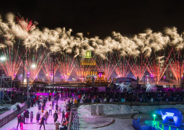 Moscow Kicks Off Winter Season With Opening of Colorful Skating Rinks