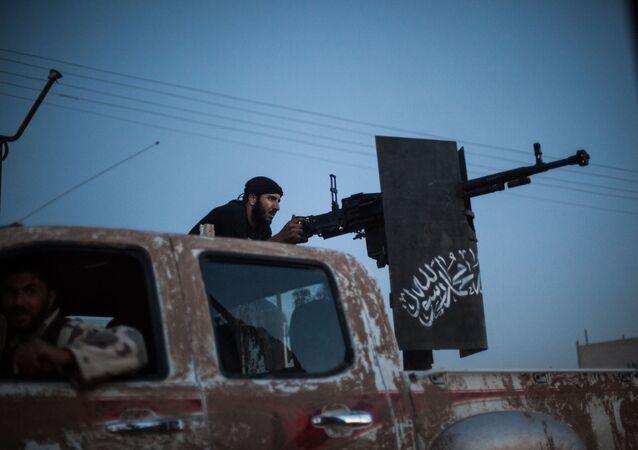 A member of Ahrar al-Sham
