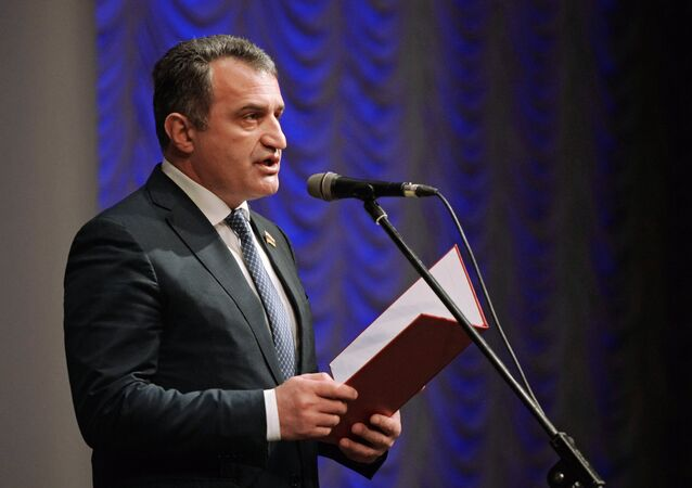 Anatoly Bibilov, Speaker of the South Ossetia parliament