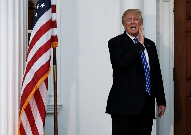 U.S. President-elect Donald Trump