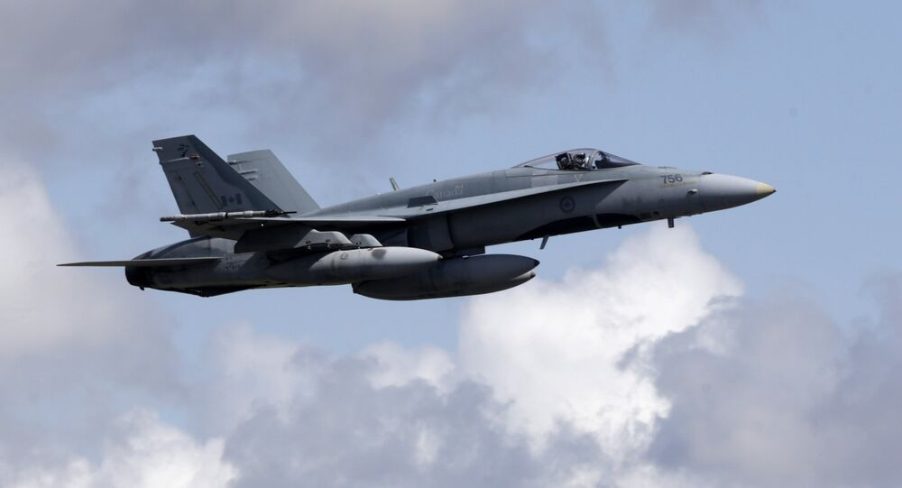 Canadian Air Task Force Jet CF-18