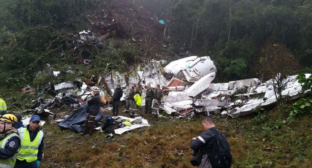 Plane With Brazilian Football Players Crashes in Colombia