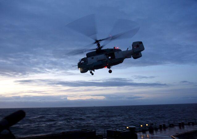 KA-27 ship-based helicopters. (File)