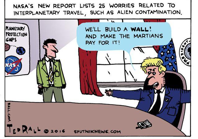 Martian Wall