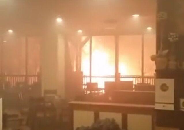 Gatlinburg TN fire - park vista hotel