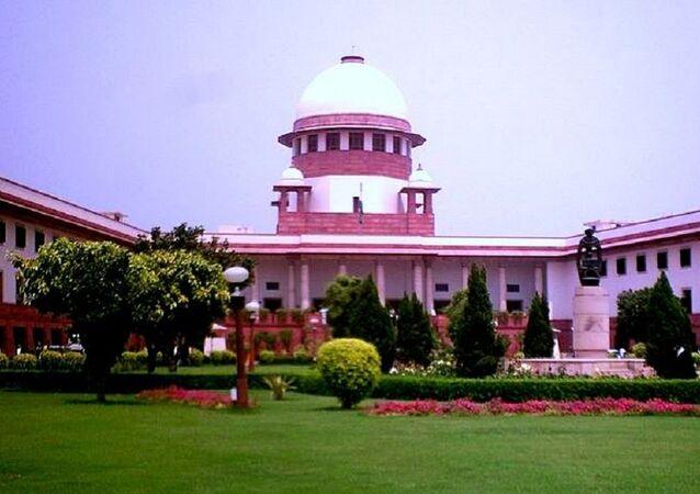 Supreme Court building. (File)