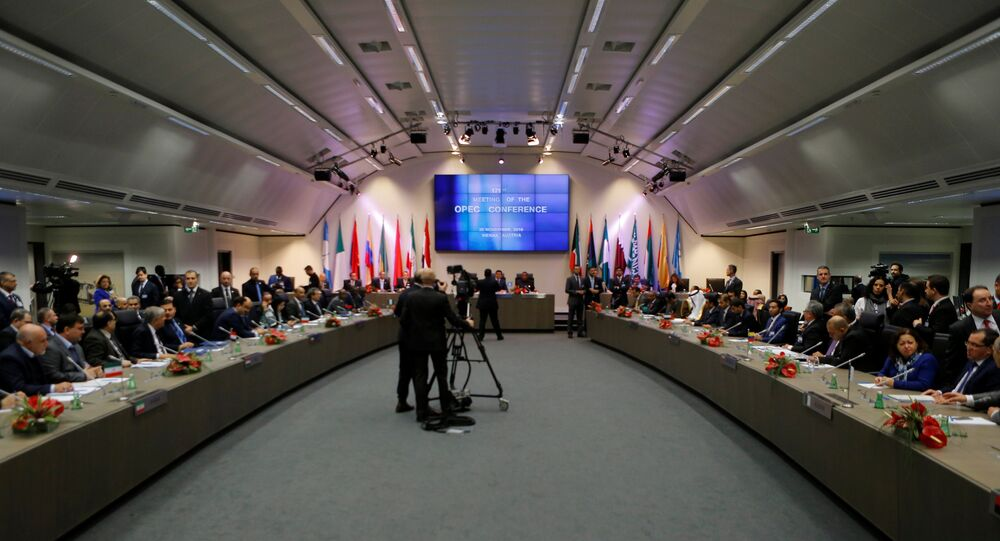 A general view of the beginning of a meeting of the Organization of the Petroleum Exporting Countries (OPEC) in Vienna, Austria, November 30, 2016.