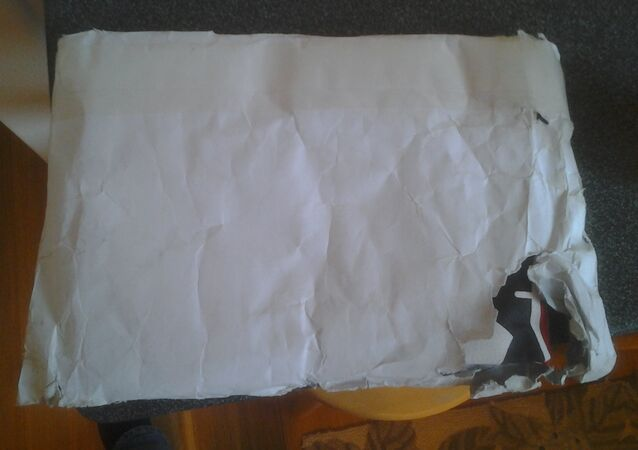 Damaged envelope. (File)