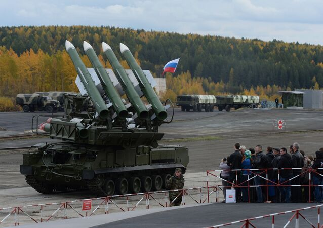 The Buk-M2E missile system. (File)