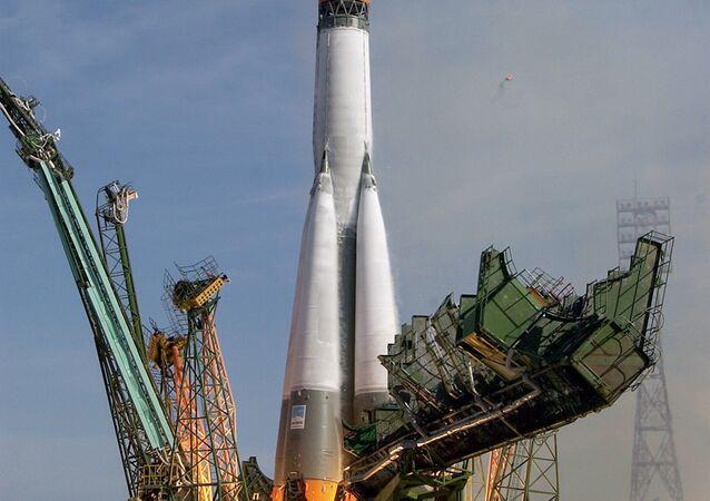Russian Soyuz-U carrier rocket. (File)