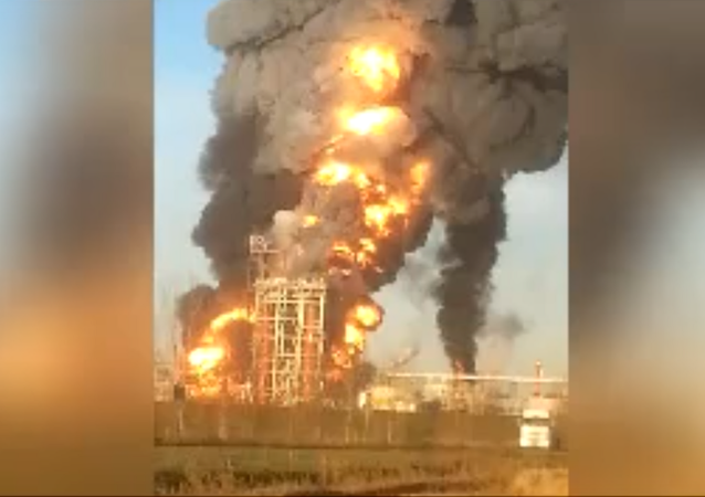 WATCH: Massive Explosion at Italian Oil Refinery Caught on Camera