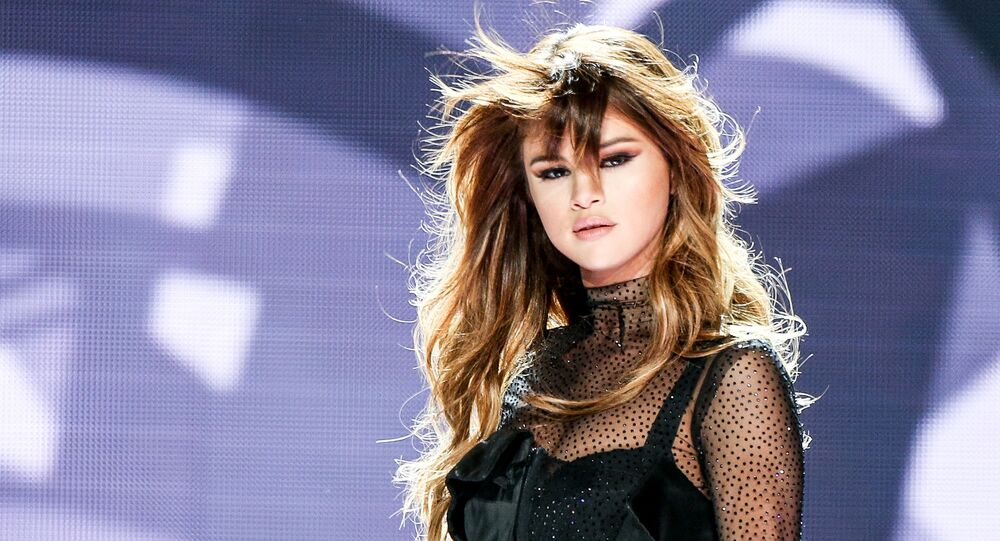 Selena Gomez performs at the Staples Center on Friday, July 8, 2016, in Los Angeles