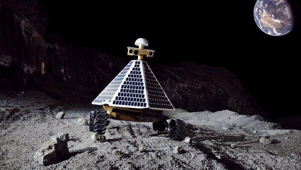 On the moon - Sputnik International