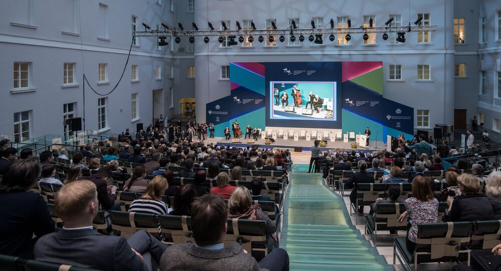 The opening ceremony of the St. Petersburg International Cultural Forum