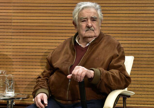 Former Uruguayan President Jose Mujica (File)