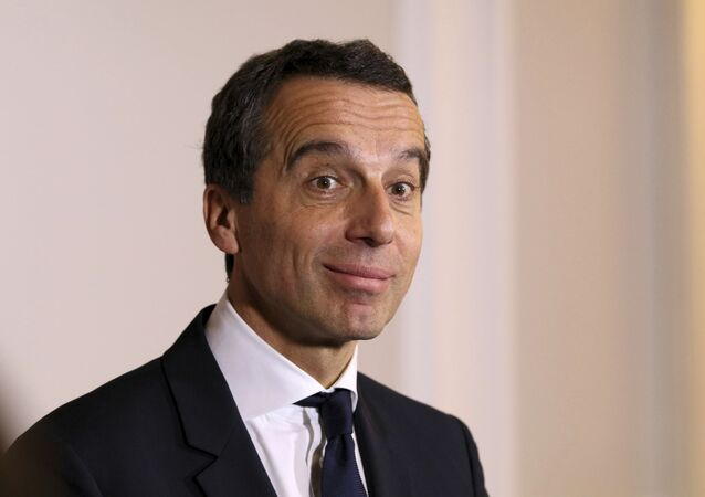 Austrian Chancellor Christian Kern (File)