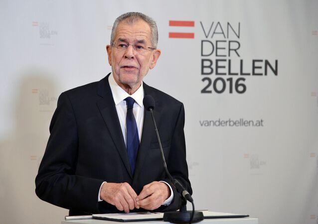 Austrian President-elect Alexander Van der Bellen