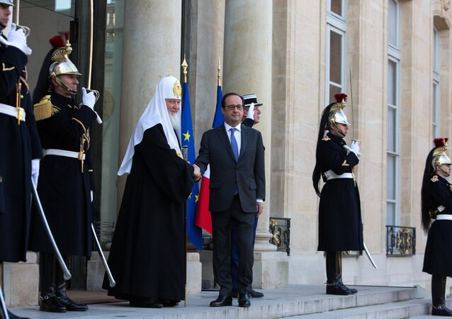 Patriarch Kirill visits Paris