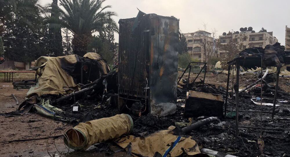 Russian Defense Ministry mobile hospital in Aleppo was shelled by militants