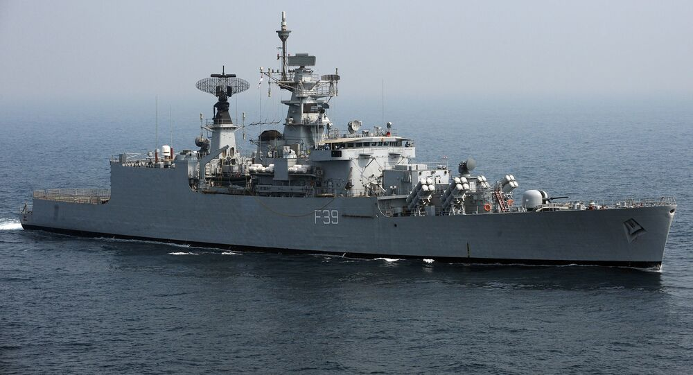 India Navy's battleship INS Betwa (File)