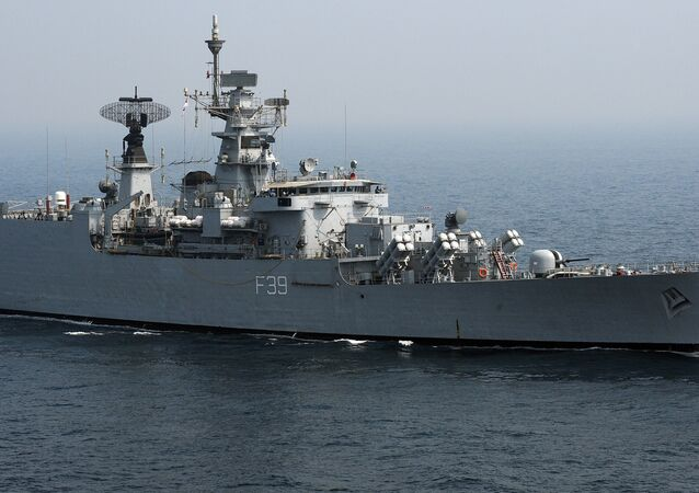 India Navy's battleship INS Betwa (File)