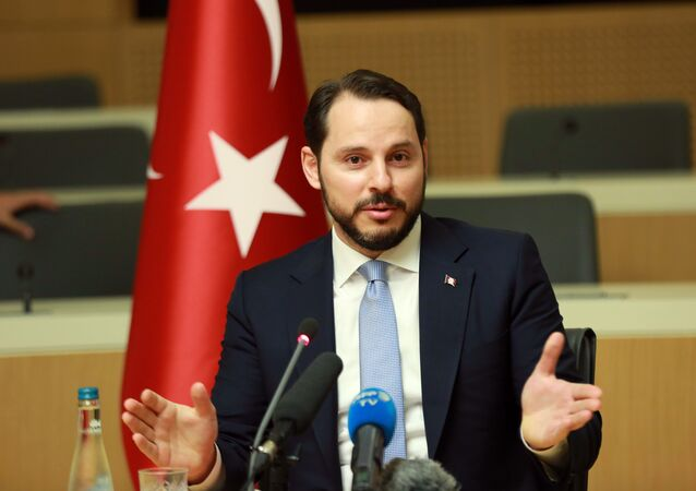 Turkish Minister of Energy Berat Albayrak.