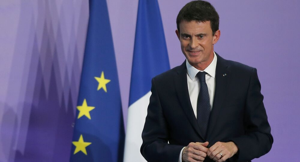 French Prime Minister Manuel Valls attends a news conference during an Interministerial Committee on Disability, in Nancy, France, December 2, 2016.
