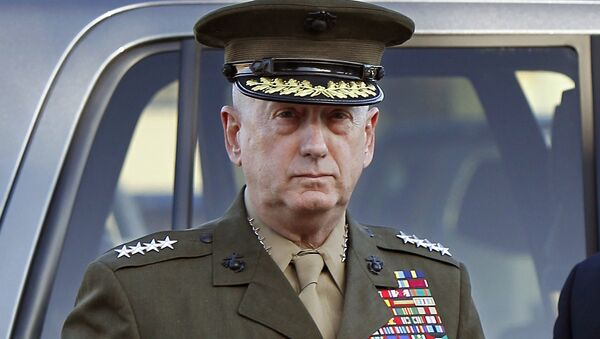 U.S. Marine Corps four-star general James Mattis arrives to address at the pre-trial hearing of Marine Corps Sgt. Frank D. Wuterich at Camp Pendleton, California U.S in a March 22, 2010 file photo - Sputnik International