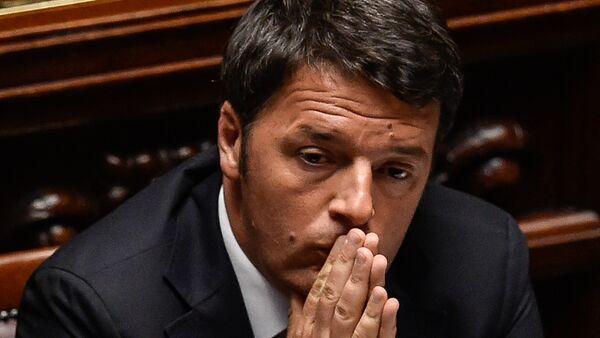 Italian Prime minister Matteo Renzi (File) - Sputnik International