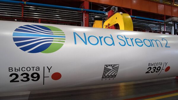 Nord Stream 2 gas pipeline construction project - Sputnik International