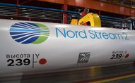 Nord Stream 2 gas pipeline construction project