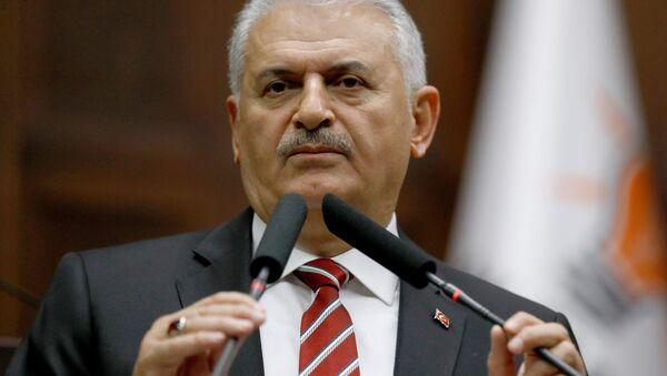 Turkey's Prime Minister Binali Yildirim. (File) - Sputnik International