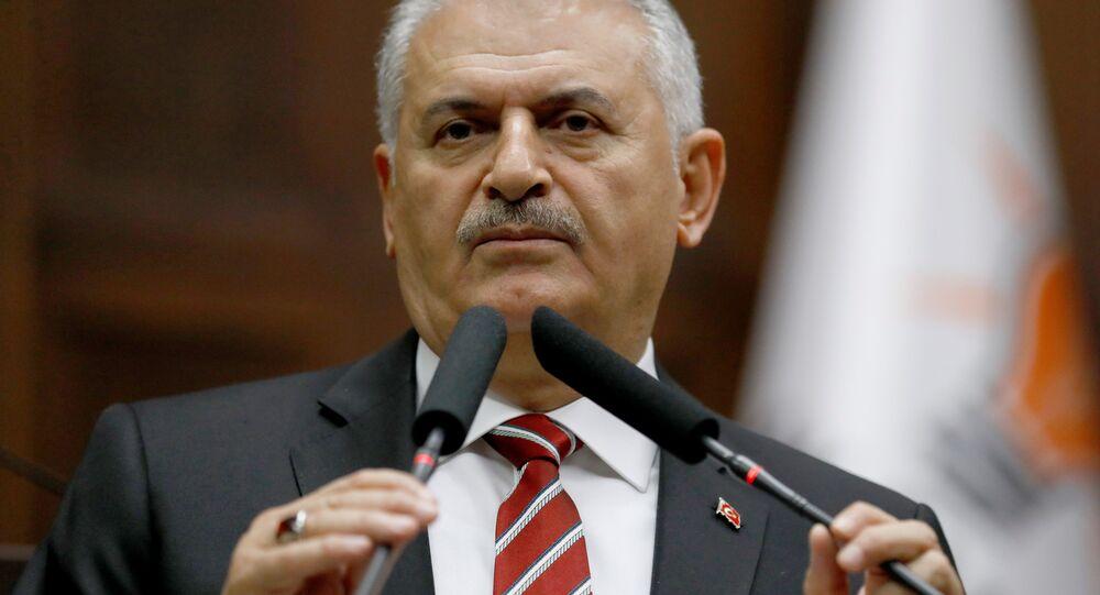 Turkey's Prime Minister Binali Yildirim. (File)