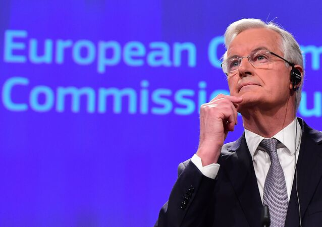 European Union's Chief Brexit Negotiator, French Michel Barnier, in charge of the preparation and conduct of the negotiations with Britain under article 50 of the Treaty on European Union (TEU) speaks during a press conference on December 6, 2016, at the European Commission in Brussells.