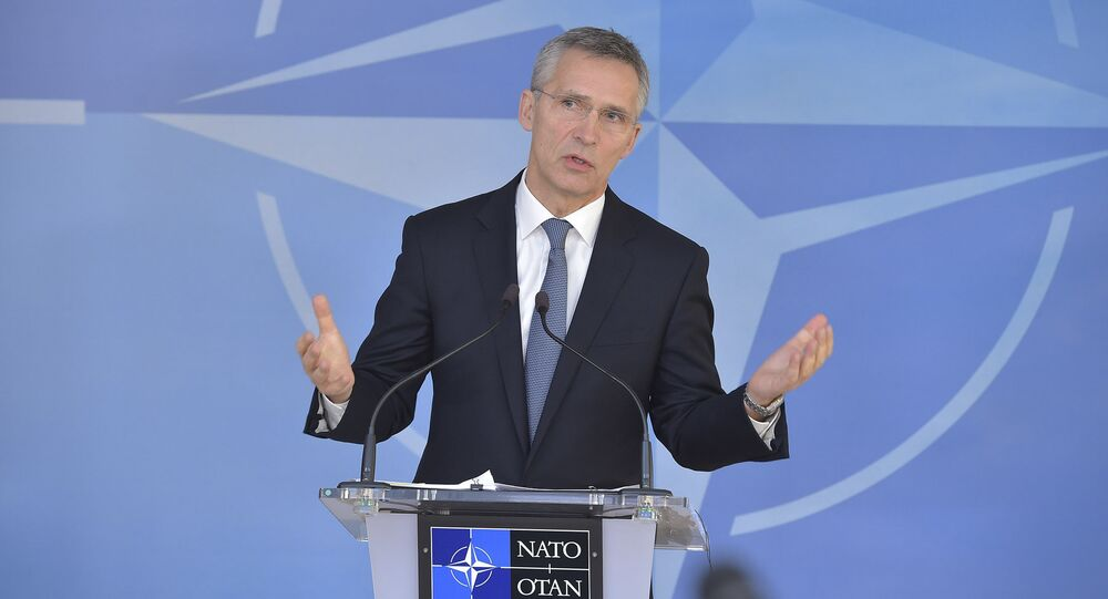 NATO Secretary General Jens Stoltenberg at meetings of NATO Ministers of Foreign Affairs - NATO headquarters - 6-7 December 2016
